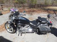 FORSALE: 2005 VTX1300C HONDA with mustang seat runs