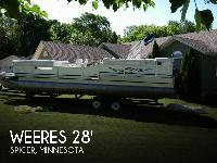 - Stock #078882 - 2005 Weeres 280 Flat Deck pontoon
