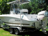 2005 Wellcraft with 200 hp Etec motor. New 2015 Amera