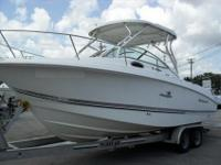 2005 Wellcraft 252 Coastal is reasonable condition.