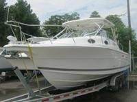 The Wellcraft 290 Coastal features a 42-gallon Kodiak