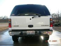 Description 2005 White Chevy Tahoe LS 4x4. Very Clean