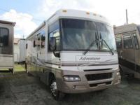 A 38' Class A Motorhome with a Vortec 8100 Motor and
