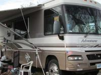 2005 Winnebago Adventurer. This Class A recreational
