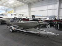 2005 XPRESS HD17 SC ALUMINUM BASS BOAT WITH ONLY 176