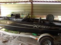2005 Xpress Crappie Pro, 95 horse power Yamaha motor,
