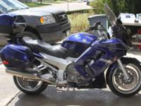 2005 Yamaha FJR13TC FJR1300. This beautiful Galaxy Blue