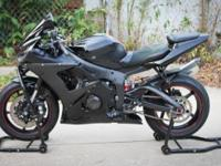 2005 Yamaha R6 Black Raven Edition 35,573 Miles Visual