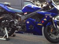 Selling my r6 because I am looking to buy a liter bike,