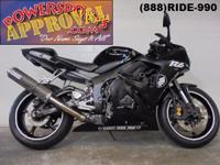 2005 Yamaha R6 Crotch Rocket for sale only $3,999! Real