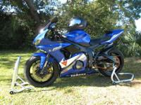 2005 Yamaha R6. Immaculately clean, always garaged,