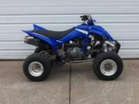 2005 Yamaha Raptor 350 is in good shape and equipped