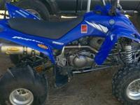 2005 Yamaha Raptor 350R For Sale! It is in great