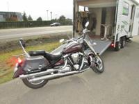 2005 Yamaha Road Star 1700...only 7,300 miles...super