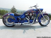 2005 Yamaha Road Star, 1047 miles. This bike is a very