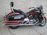 2005 YAMAHA ROAD STAR TOUR DELUXE WITH ONLY 8481 MILES.