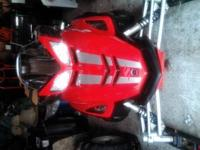 I have a 2005 yamaha rs rage 1000 4-stroke with 3200