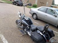 This 2005 yamaha v star is in very good running an