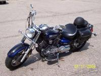 I am selling my 2005 Yamaha V-Star Classic 1100. This