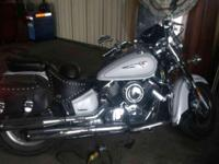 2005 V star classic 1100, just over 20,000 miles. pearl
