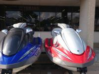 2005 Yamaha Wave Runner FX Cruisers High Output Red And