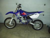 Like new 2005 YZ85,never raced, less than 30 hr's in