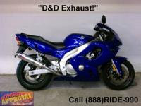 2005 Yamaha YZF600R Sport Bike - For sale only $3,499!