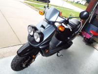2005 YAMAHA ZUMA 50T SPORT SCOOTER WITH 667 MILES IN