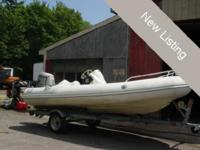 2005 Zodiac 420 Yachtline DL Well cared for rigid