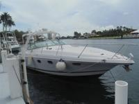 2005 32' FOUR WINNS EXPRESS 328 VISTA, 2008 TWIN 190 HP