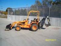 Selling this 2005 Allmand Brothers Backhoe/Excavator