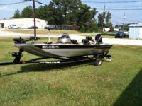 2005 Bass Tracker Pro Team 165, exceptionally clean