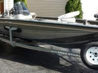 2005 Bass Tracker with TrailStar trailer for sale by