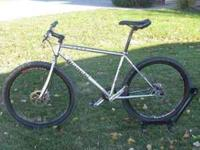 2005 Bianchi SASS single speed mountain bike. Size