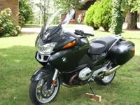 2005 BMW R1200RT Sport Touring Motorcycle... The bike