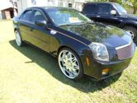 2005 Cadillac CTS for sale. 72,000 miles. 22 inch