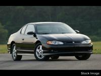 Options:  2005 Chevrolet Monte Carlo Supercharged