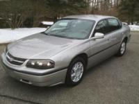 2005 CHEVY IMPALA . Silver Outside, Gray Inside,