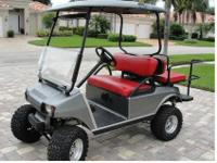 AN EXCELLENT GOLF CART WITH MANY EXTRAS:*ALUMINUM UNDER