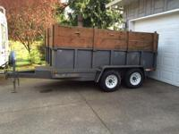 I have a 2005 M&H dump trailer, it is a clean title.