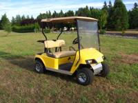 2005 EZ-GO Gas golf cart Roof, new tinted folding