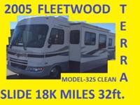 Up For Sale: 2005 FLEETWOOD TERRA 32ft SLIDE OUT!!!ONLY