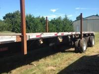 2005 Fontane Flatbed Trailer For Sale in Mooreland,
