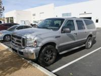 Clean CARFAX. 2005 Ford Excursion Silver RWD 4-Speed