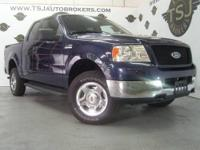 2005 FORD F150 XLT V8 4X4 CREW CAB FULL 4 DOOR PICK UP