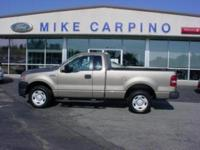 Options Included: N/A2005 Ford F150 XL, Reg Cab, V6