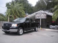 Options Included: N/A2005 FORD F150 XLT SUPERCAB, BLACK