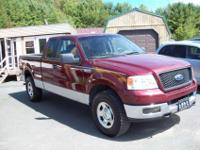 2005 Ford F-150 Supercab 4X4 with great deals of