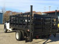 2005 Ford F-450 XL Diesel Dually Stake Body With Lift