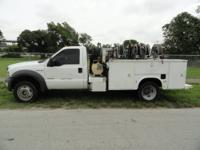 2005 Ford F550 Super Duty 4 4 Service Truck, Vin: